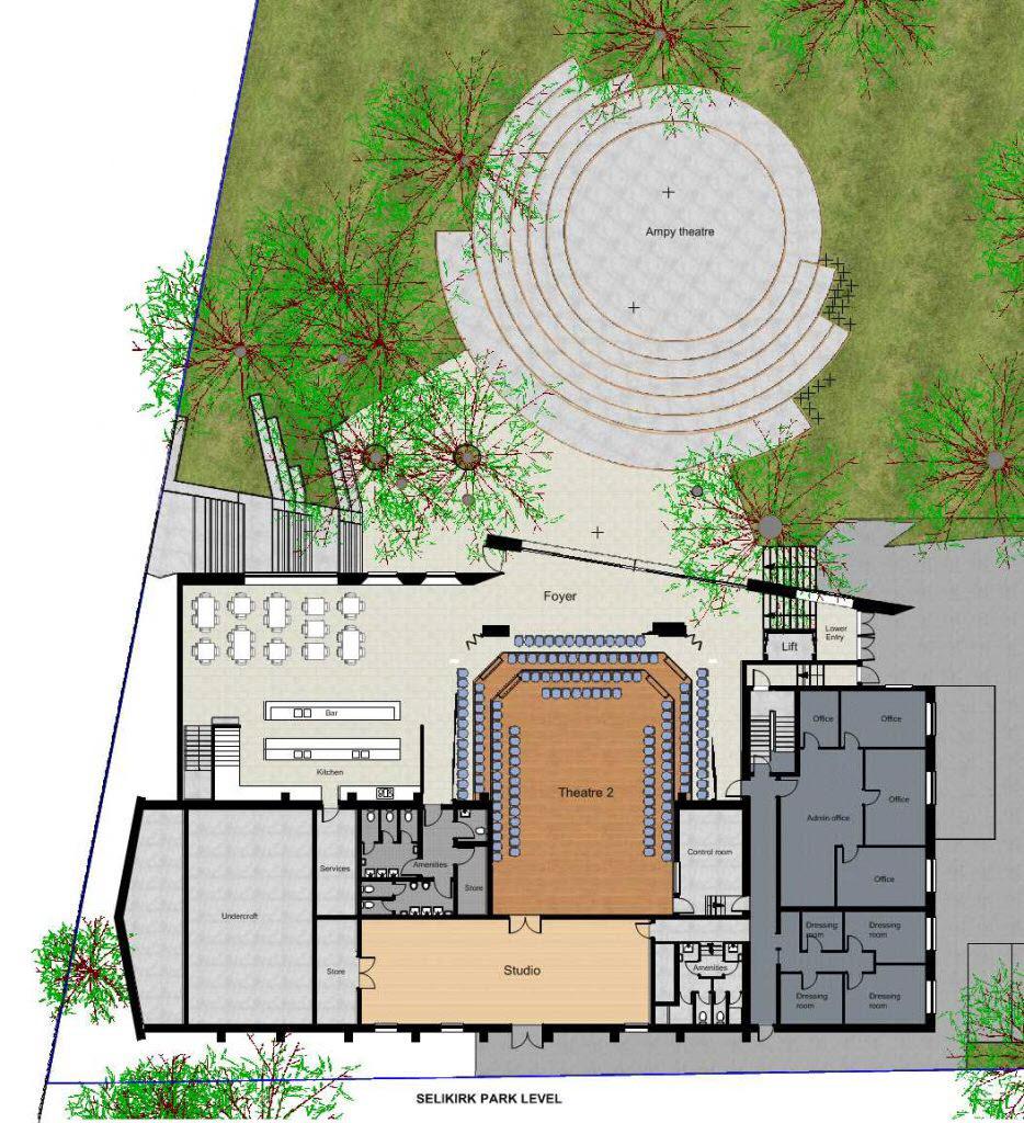 Marian Street Theatre- Site Plan