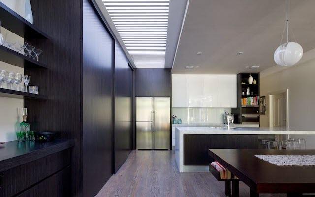 Simple but elegant dining area
