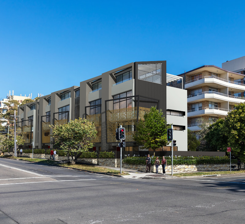 Chatswood luxury townhouses